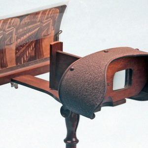 Early Holmes style stereoscope